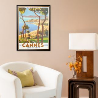 Art.com Ete Cannes Hiver Framed Art Print by Peri