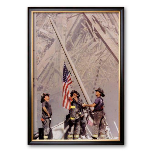 Art.com Ground Zero, NYFD Framed Art Print by Thomas E. Franklin