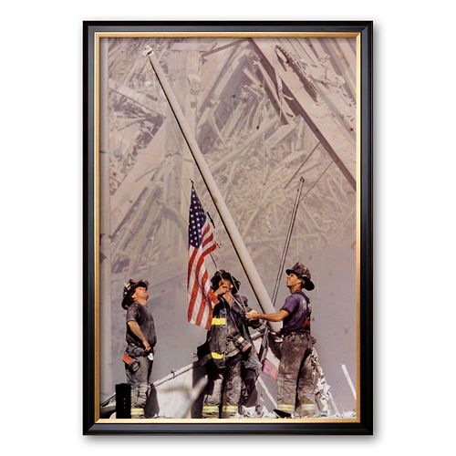 "Art.com ""Ground Zero, NYFD"" Framed Art Print by Thomas E. Franklin"