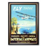 "Art.com ""Imperial Airways"" Framed Art Print"