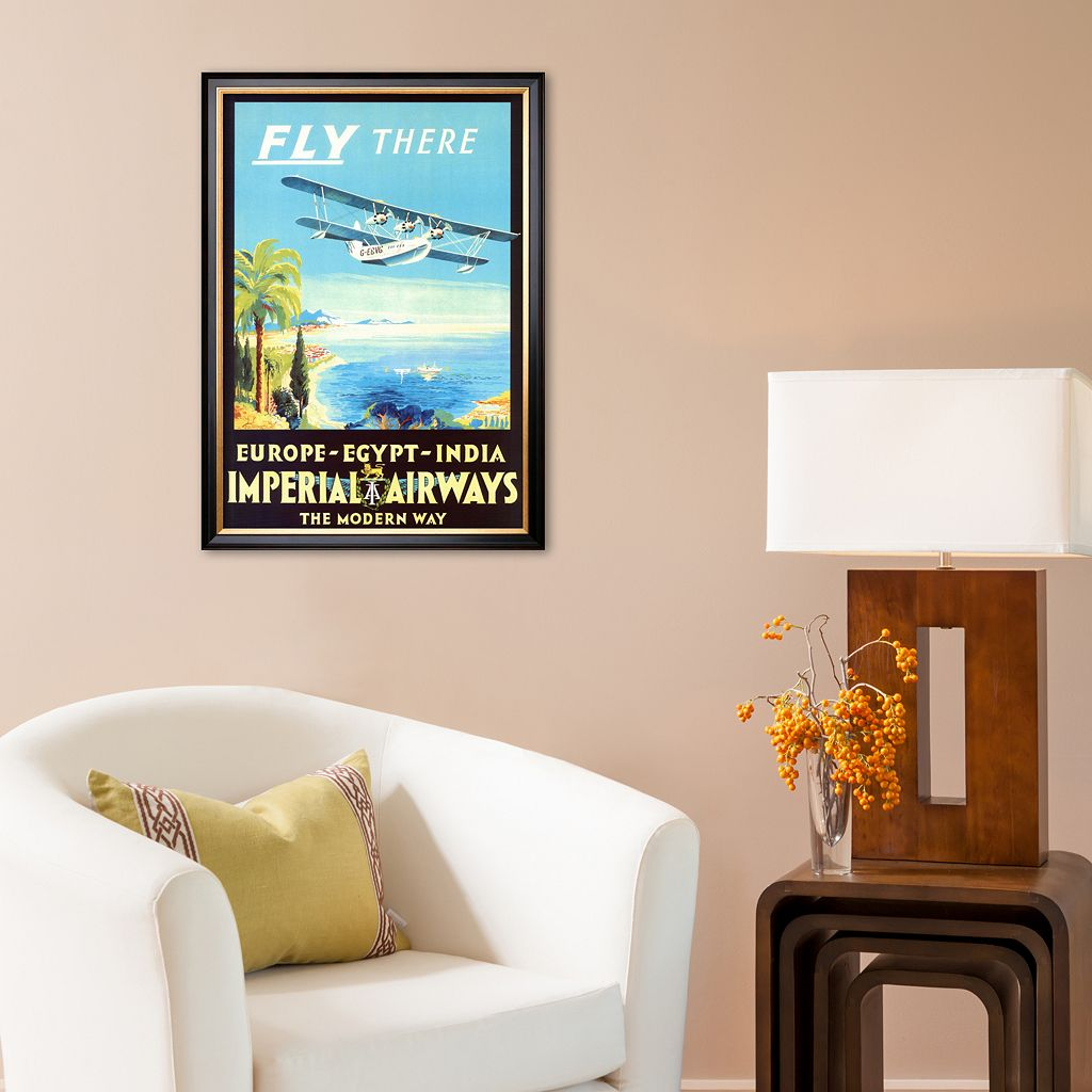 Art.com Imperial Airways Framed Art Print