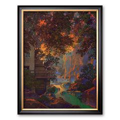 Art.com 'Old Oak Glen' Framed Art Print by Maxfield Parrish