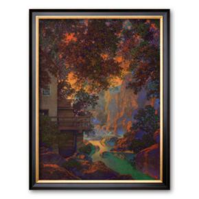Art.com Old Oak Glen Framed Art Print by Maxfield Parrish
