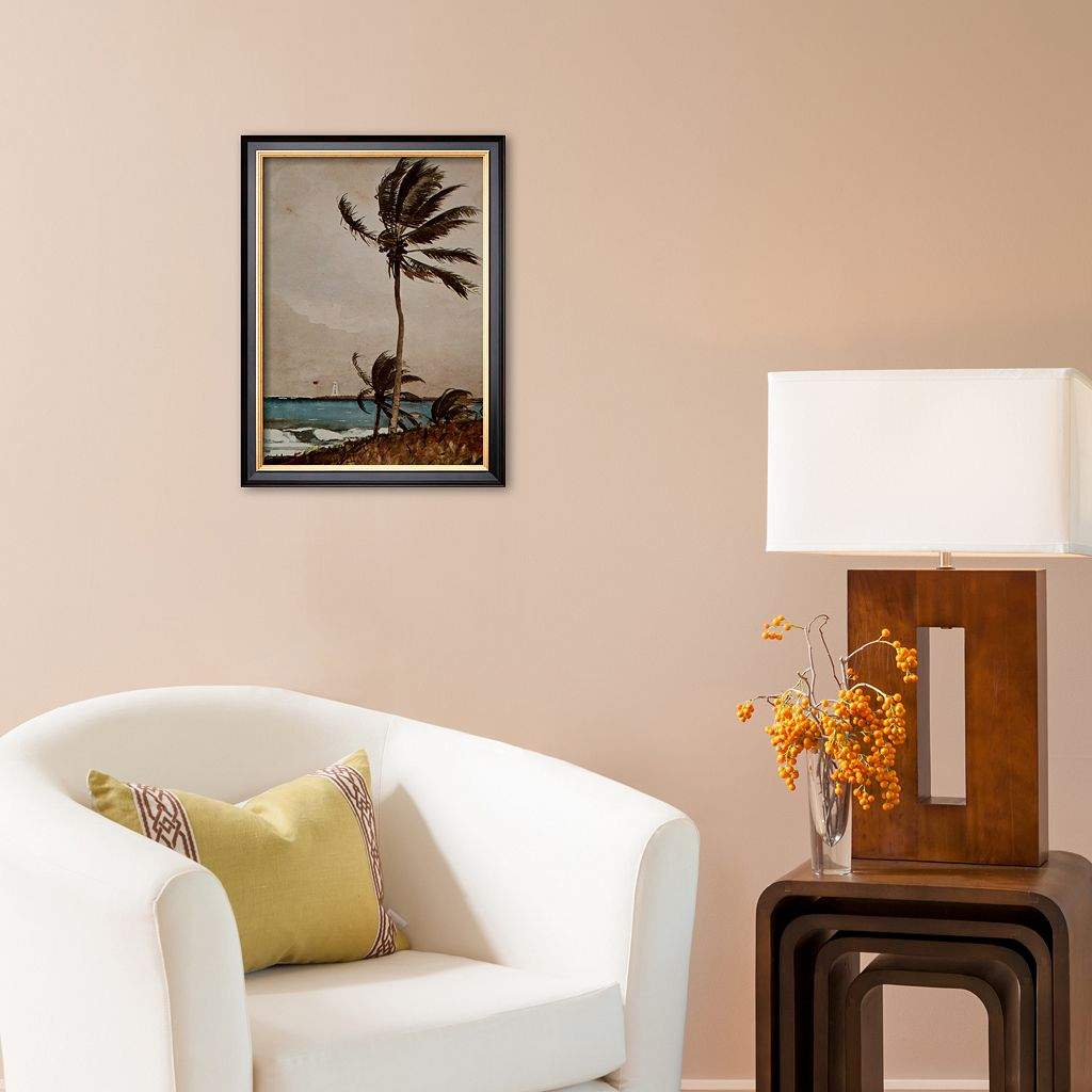 Art.com Palm Tree, Nassau Framed Art Print by Winslow Homer