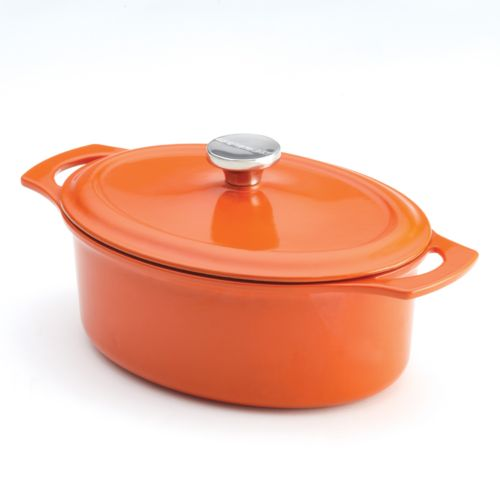 Rachael Ray 3.5-qt. Cast-Iron Covered Casseroval Dish