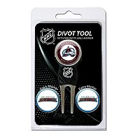 Team Golf Colorado Avalanche 4 pc Divot Tool & Ball Marker Set