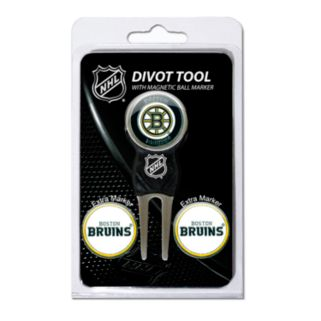 Team Golf Boston Bruins 4-pc. Divot Tool and Ball Marker Set