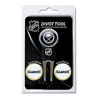 Team Golf Buffalo Sabres 4 pc Divot Tool & Ball Marker Set