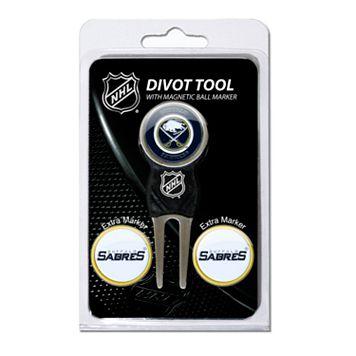 Team Golf Buffalo Sabres 4-pc. Divot Tool & Ball Marker Set