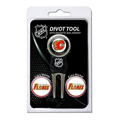 Team Golf Calgary Flames 4-pc. Divot Tool & Ball Marker Set