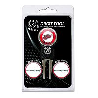 Team Golf Detroit Red Wings 4 pc Divot Tool & Ball Marker Set