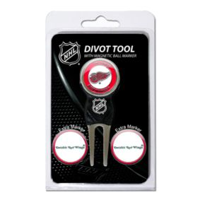 Team Golf Detroit Red Wings 4-pc. Divot Tool and Ball Marker Set