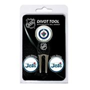 Team Golf Winnipeg Jets 4-pc. Divot Tool and Ball Marker Set