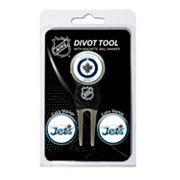 Team Golf Winnipeg Jets 4 pc Divot Tool & Ball Marker Set