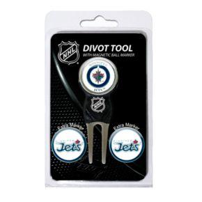 Team Golf Winnipeg Jets 4-pc. Divot Tool and Ball Marker Set