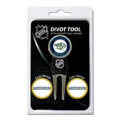 Team Golf Nashville Predators 4-pc. Divot Tool and Ball Marker Set