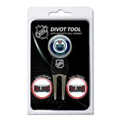 Team Golf Edmonton Oilers 4-pc. Divot Tool and Ball Marker Set