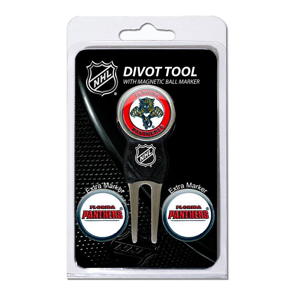 Team Golf Florida Panthers 4-pc. Divot Tool & Ball Marker Set