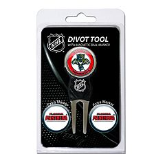 Team Golf Florida Panthers 4 pc Divot Tool & Ball Marker Set