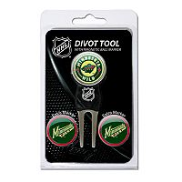 Team Golf Minnesota Wild 4 pc Divot Tool & Ball Marker Set