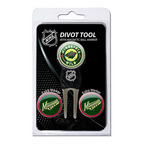 Team Golf Minnesota Wild 4-pc. Divot Tool & Ball Marker Set