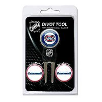 Team Golf Montreal Canadiens 4 pc Divot Tool & Ball Marker Set