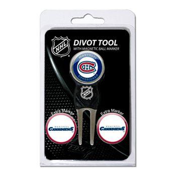 Team Golf Montreal Canadiens 4-pc. Divot Tool & Ball Marker Set
