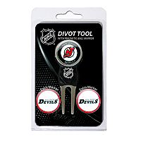 Team Golf New Jersey Devils 4 pc Divot Tool & Ball Marker Set