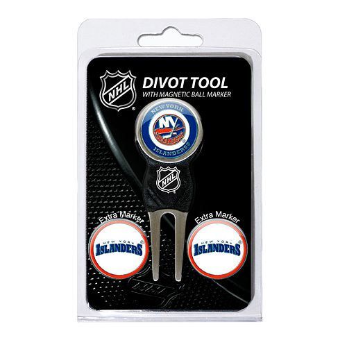 Team Golf New York Islanders 4-pc. Divot Tool & Ball Marker Set