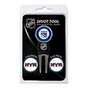 Team Golf New York Rangers 4-pc. Divot Tool and Ball Marker Set