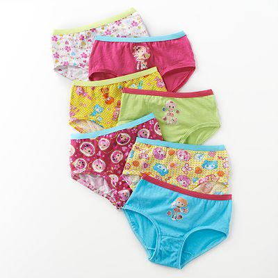 Lalaloopsy 7-pk. Briefs by Fruit of the Loom - Girls