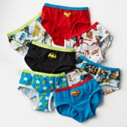 DC Comics 7-pk. Briefs - Girls