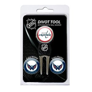 Team Golf Washington Capitals 4-pc. Divot Tool & Ball Marker Set