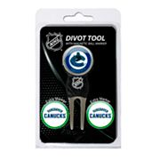 Team Golf Vancouver Canucks 4 pc Divot Tool & Ball Marker Set