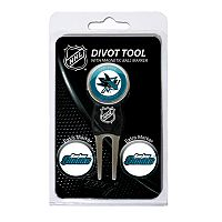 Team Golf San Jose Sharks 4-pc. Divot Tool & Ball Marker Set