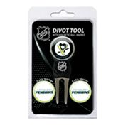 Team Golf Pittsburgh Penguins 4-pc. Divot Tool and Ball Marker Set