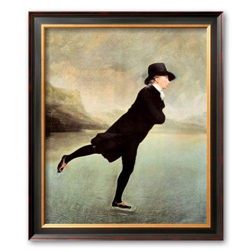 Art.com Reverend Robert Walker Skating on Duddin Framed Art Print by Sir Henry Raeburn