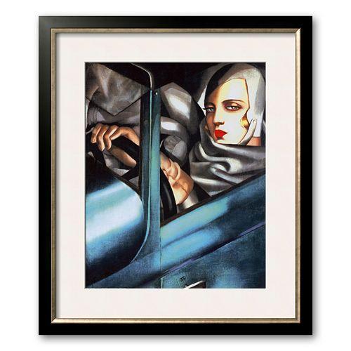 Art.com Autoportrait Framed Art Print by Tamara de Lempicka