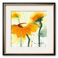 Art.com 'Sunflower V' Framed Art Print by Marthe