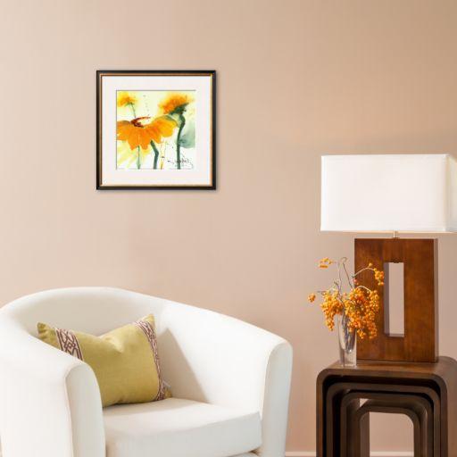 Art.com Sunflower V Framed Art Print by Marthe