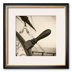 Art.com 'Nautical Aspect I' Framed Art Print by Michael Kahn