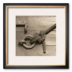 Art.com 'Nautical Aspect III' Framed Art Print by Michael Kahn