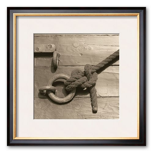 "Art.com ""Nautical Aspect III"" Framed Art Print by Michael Kahn"