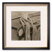 "Art.com ""Nautical Aspect IV"" Framed Art Print by Michael Kahn"