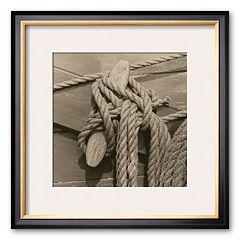 Art.com 'Nautical Aspect IV' Framed Art Print by Michael Kahn