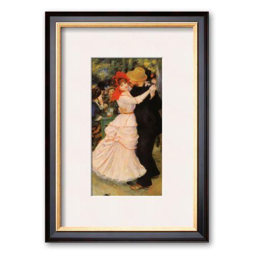 Art.com Dance at Bougival Framed Art Print by Pierre-Auguste Renoir