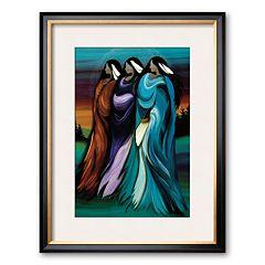 Art.com 'Three Sisters' Framed Art Print by Betty Albert