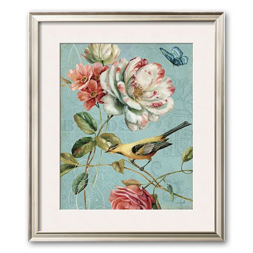 "Art.com ""Spring Romance I"" Framed Art Print by Lisa Audit"