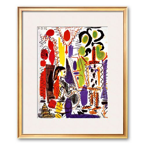 Art.com L'Atelier a Cannes Framed Art Print by Pablo Picasso