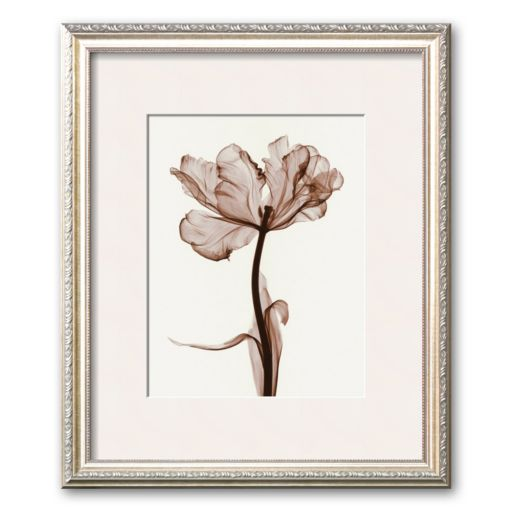 "Art.com ""Parrot Tulips I"" Cream Mat Framed Art Print by Steven N. Meyers"